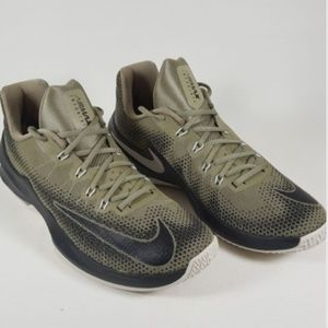 new concept 06391 ea2c8 Nike Shoes - Nike Air Max Infuriate Low Green Sneakers